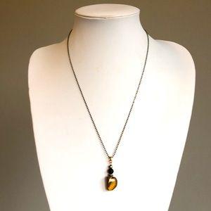 Jewelry - Necklace - Tiger Eye & Lava Stone